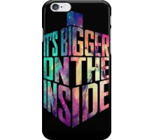 Bigger on the inside - Galaxy iPhone Case/Skin