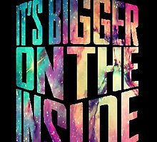 Bigger on the inside - Galaxy by nerdbaitplus3