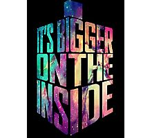 Bigger on the inside - Galaxy Photographic Print