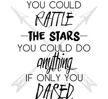 """Throne of Glass: """"You could rattle the stars"""" by clairewelleryt"""