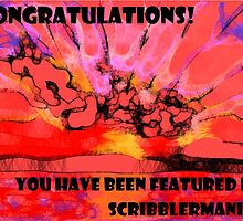 Sunset Scribbler - Banner entry by Picatso