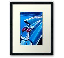 1959 Cadillac fin Framed Print