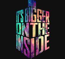 Bigger on the inside - Galaxy Unisex T-Shirt