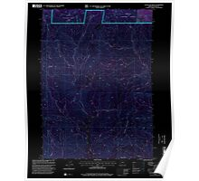 USGS Topo Map Oregon Cleveland Ridge 279372 1998 24000 Inverted Poster
