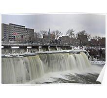 Rideau Falls, Ottawa Ontario Poster