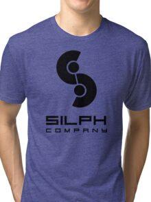 Silph Co. Logo (in Black) Tri-blend T-Shirt