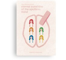 """Eternal Sunshine"" - minimalist movie poster Canvas Print"