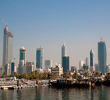 Skyhigh, Kuwait city - Souq Sharq by NicoleBPhotos