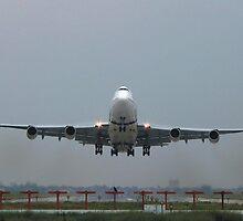 PIA Landing at Allama Iqbal Airport Lahore........... by Naveed Sarwar