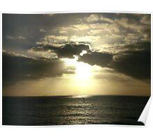 Sunrise at Shack Bay Poster