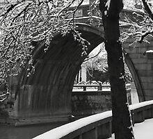 'A Night Mooring by Maple Bridge' (楓橋夜泊) by Mark Bolton