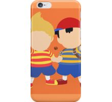 Ness & Lucas (Orange) - Super Smash Bros. iPhone Case/Skin