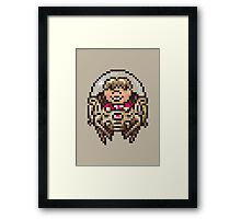 Heavily Armored Pokey Framed Print