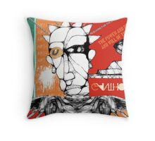 reaching for raven 7 Throw Pillow