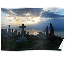 Waverley Cemetery at Dawn Poster