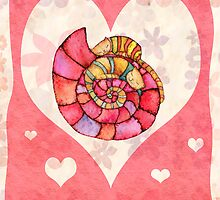 greeting card for Valentine's Day by vimasi