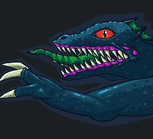 Hyper Caiman Horizontal by archanor