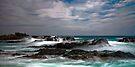 Wet Rocks, Bennetts Beach, Forster by bazcelt