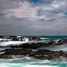 Wet Rocks, Bennetts Beach, Forster by bazcelt