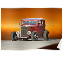 1932 Ford Victoria 'Leather' I Poster