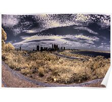 Perth City from Kings Park Poster