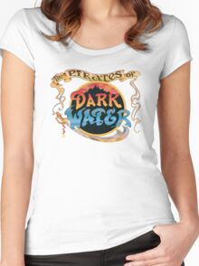 Pirates of Dark Water - color logo Women's Fitted Scoop T-Shirt