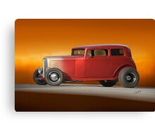 1932 Ford Victoria 'Leather' III Canvas Print