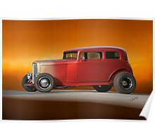 1932 Ford Victoria 'Leather' III Poster