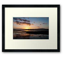 Colours of Tasmania Framed Print