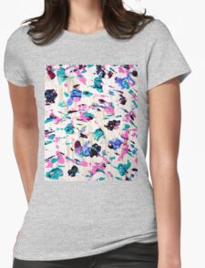 Abstract Butterfly Design  Womens Fitted T-Shirt