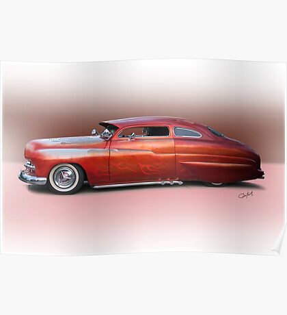 1950 Mercury Custom Sedan 'Barnfind' 2 Poster