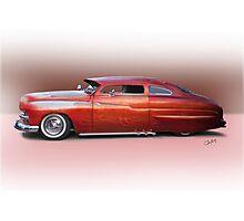 1950 Mercury Custom Sedan 'Barnfind' 2 Photographic Print