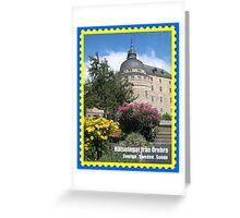 Greetings from Örebro, Sweden. Greeting Card