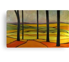Distant Hills 60x36 Oil Canvas Print
