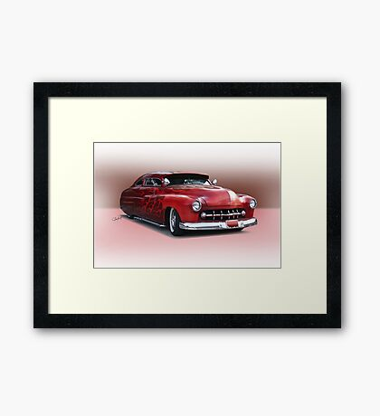 1950 Mercury Custom Sedan 'Barnfind' 3 Framed Print