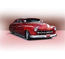 1950 Mercury Custom Sedan 'Barnfind' 3 Photographic Print