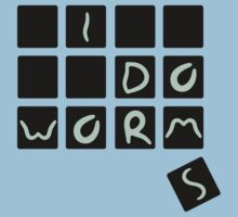 worm font by calcidiscus