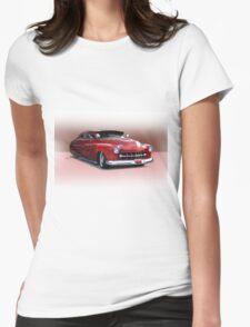 1950 Mercury Custom Sedan 'Barnfind' 3 Womens Fitted T-Shirt