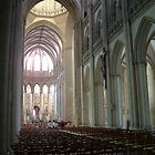 Inside Coutances Cathedral by GreenPeak