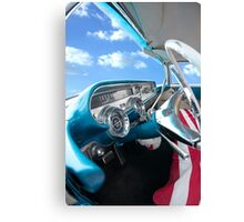 Pontiac Star Chief Interior Canvas Print