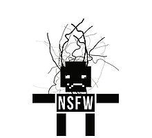 NSFW ROBOT Photographic Print