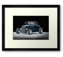 1929 Ford Model A Roadster 'Studio' Framed Print