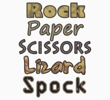 Rock Paper Scissors Lizard Spock by Sarah  Mac