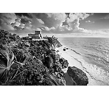 Mayan ruins at Tulum, Yucatan, Mexico. Photographic Print