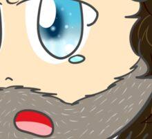 Coral? - Chibi Rick Grimes Sticker