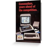 C64 Greeting Card