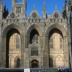 Peterborough Cathedral by nealbarnett