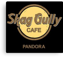 Skag Gully Cafe (undistressed) Canvas Print
