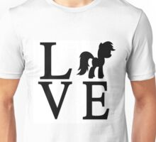 Love My Little Pony Unisex T-Shirt