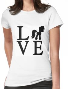 Love My Little Pony Womens Fitted T-Shirt